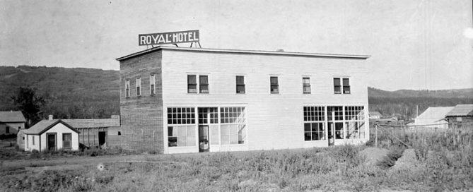 Royal Hotel, Peace River Crossing, Alberta, Canada - a040811
